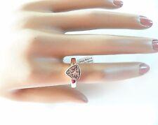 Trillion Cut 1.5 Carat Morganite Solitaire Wedding Engagement Promise Ring
