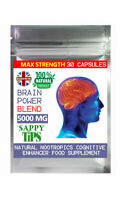 All-Natural Nootropics Brain Booster Blend 5000mg Focus Limitless supplements