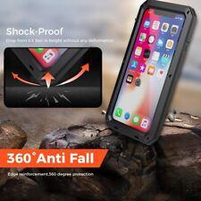 Waterproof Case iPhone 7 8 X XRmax -HeavyDuty Builder Metal Shockproof Cover