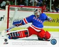"""Mike Richter New York Rangers NHL Game Action Photo (8"""" x 10"""")"""