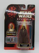 Hasbro Star Wars Mace Windu With Lightsaber And Jedi Cloak Action Figure