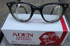 NOS Vintage Aden Safety Glasses Goggles Eye Protection Steampunk Car Motorcycle