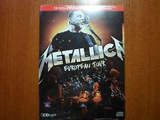 Metallica - European Tour 2009 Brazil exclusive RARE