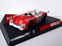 "SCX Scalextric Slot Ninco 50254 BMW V12 LM ""FAT"" Le Mans 2000 Nº15"