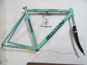 Vintage BIANCHI Team Reparto Corse Lite Alloy FrameSet Campagnolo Shimano Used
