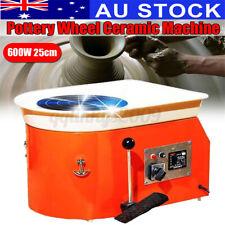 AU 600w 25cm Pottery Wheel Machine Ceramic Work Ceramics Clay Foot Pedal Use Ⅰ