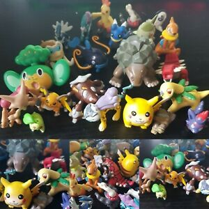 Big Vintage Pokemon  TOMY Nintendo Card Pikachu Figures toy Bandai bundle CGTSJ
