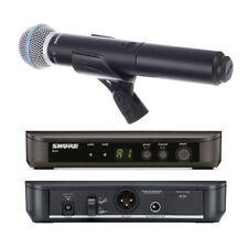 SHURE BLX24E/B58 radiomicrofono WIRELESS professionale per live canto karaoke DJ