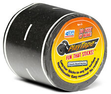 "PlayTape Black - Single Roll 30'x2"" - Road Car Tape Great for Kids, Sticker Roll"