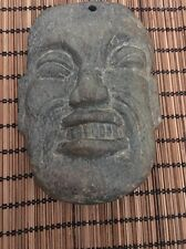 Mayan Green Stone Carved Head