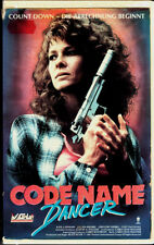 "VHS - "" Code Name DANCER "" (1987) - Kate Capshaw - Jeroen Krabbé"
