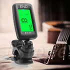 Chromatic Clip On Digital Tuner For Acoustic Electric Guitar Bass Violin Ukulele