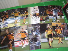 Hull City AFC 26 x Signed 2012/13 Promotion Season 12x8 Player Photographs