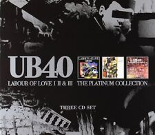 UB40: LABOUR OF LOVE I II & III 3x CD THE PLATINUM COLLECTION / NEW