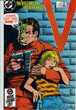 V the series #2 comic 1985         visitors    d