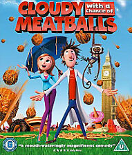 Cloudy With A Chance Of Meatballs (3D Blu-ray, 2010)