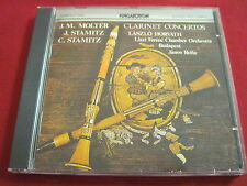 MOLTER / STAMITZ - CLARINET CONCERTOS - HORVATH - HUNGARATON (CD 1979 JAPAN)