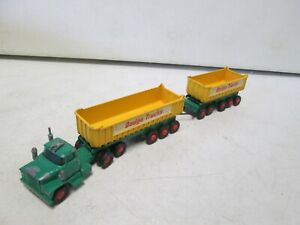 Matchbox King Size Dodge Tractor and Trailer K-16