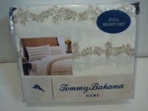 NWT Tommy Bahama Pineapple Garland Sheet Set, Full