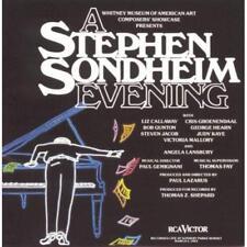 New: STEPHEN SONDHEIM- Stephen Sondheim Evening CASSETTE