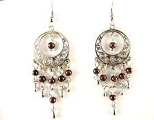 Garnet Drop/Dangle Fashion Earrings