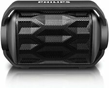 Philips Shoqbox Rugged Compact Wireless Portable Waterproof Bluetooth Speaker
