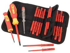 Draper ergonómico Plus VDE Destornillador Juego de INTERCAMBIABLES Hojas 18