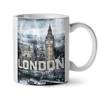 Tower Urban London NEW White Tea Coffee Mug 11 oz | Wellcoda
