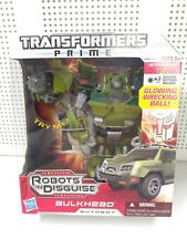 Transformers Prime Bulkhead Voyager Class Robots in Disguise Hasbro New
