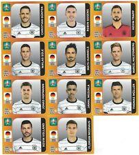 Panini EURO 2020 (EM 2021) - ALLE 11 UPDATE-Sticker DEUTSCHLAND inkl. MUSIALA