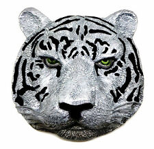 Siberian Tiger Belt Buckle 3D Wild Animal Big Cat Authentic Dragon Designs