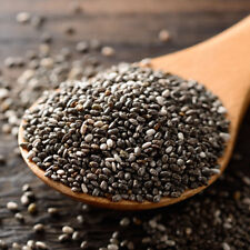 Chia Seeds 90 gr(3.5oz.) - Pure Premium Black - Vegan - Gluten Free