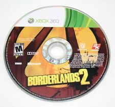 Borderlands 2 (Microsoft Xbox 360, 2012) CD Only Fast Shipping