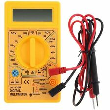 New Digital LCD Voltmeter Multimeter Circuit Battery Tester Ammeter Ac Dc  Ohm