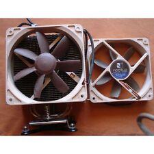 Noctua  cpu + 2 ventillateurs Noctua : NF-S12-1200 de 120mm .