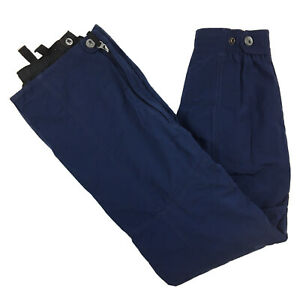 Spyder Women's Thinsulate Ski Snowboarding Snow Pants Navy Blue Size US 6 UK 8