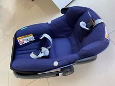 Maxi-Cosi Pebble Plus i-size Car Seat 2 Way   0+ Blue Black