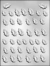Holly Leaf Assortment Christmas Chocolate Candy Mold from CK #4137 - NEW
