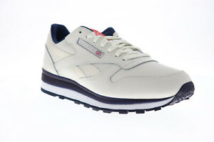 Reebok Classic Leather MU DV8626 Mens Beige Tan Low Top Lifestyle Sneakers Shoes