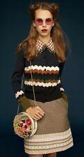 RARE Orla Kiely Look Book 2018  Truffle Skirt - Size 8