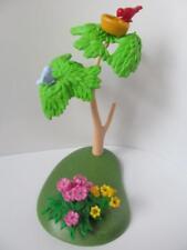 Playmobil Tree, bird's nest & flowers NEW scenery for Zoo/safari/western sets