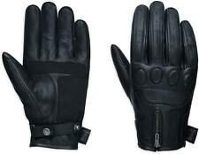 Harley-Davidson Men's No.1 Skull Leather Motorcycle Gloves 98367-17EM