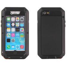 Case for Iphone 5/5s/SE Waterproof Shockproof Steel Metal Hybrid Armor Cover