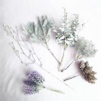 6PCS Artificial Plants Flowers Fake Pineapple Grass Xmas Party Home Decor