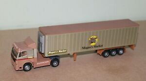 KENTOYS 1:72 MERCEDES EUROCAB 1850 & REFRIGERATED TRAILER - MOGAN'S MARKET