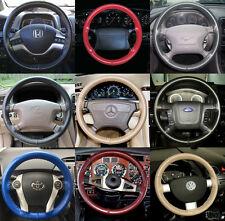 Wheelskins Genuine Leather Steering Wheel Cover for Hyundai Santa Fe