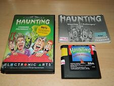 "Sega Mega Drive-haunting ""Star anillo polterguy"" - completo y buen estado"