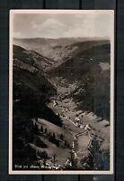 Ansichtskarte - Wiesental - Feldberg i. Schwarzwald 1936