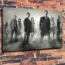 """The Originals Printed Canvas Picture A1.30""""x20""""Deep 30mm Frame Vampire Witch V3"""