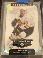 Pavel Bure 18-19 Chronology Diamond Relic 1/36 Card #96